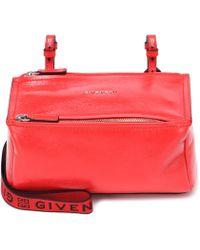 Givenchy - Pandora Mini Leather Shoulder Bag - Lyst