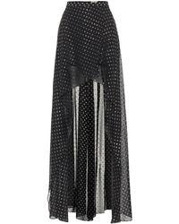 Elie Saab - Embellished Maxi Skirt - Lyst