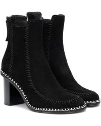 JW Anderson - Stivaletti Scare Crow in suede - Lyst