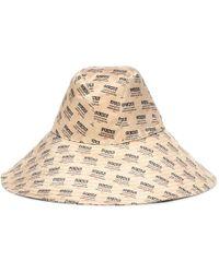 Gucci - Printed Silk Hat - Lyst