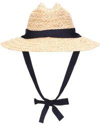 Lola Hats - Save Me Raffia Hat - Lyst
