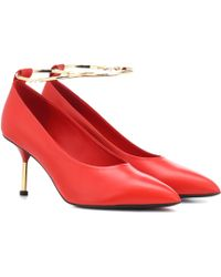 Jil Sander - Leather Pumps - Lyst