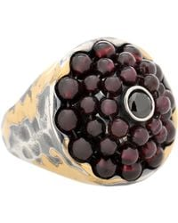 Bottega Veneta - Sterling Silver Ring - Lyst