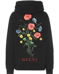 cf16cf45d75 Gucci - Chateau Marmont Cotton Hoodie - Lyst