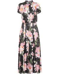 Dolce & Gabbana - Floral-printed Silk-blend Jumpsuit - Lyst