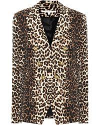 Veronica Beard - Miller Leopard-printed Blazer - Lyst