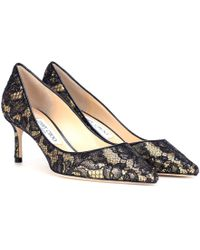 Jimmy Choo - Romy 60 Lace-coated Court Shoes - Lyst