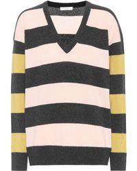 Equipment - Lucinda Striped Cashmere Sweater - Lyst