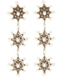 Gucci - Embellished Earrings - Lyst