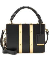 Sophie Hulme - Borsa Albany Mini Suitcase in pelle - Lyst