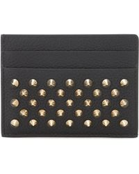 Christian Louboutin - Kios Leather Card Holder - Lyst