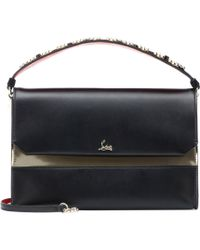 3046bc8874 Christian Louboutin Lucky L Fringed Pebbled Leather Hobo Bag in ...