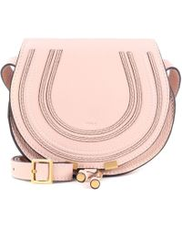 3719ff4eed41 Chloé - Marcie Small Leather Shoulder Bag - Lyst
