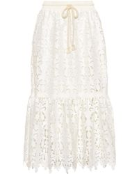See By Chloé - Lace Skirt - Lyst