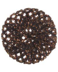 Brunello Cucinelli - Sequined Mohair-blend Hat - Lyst