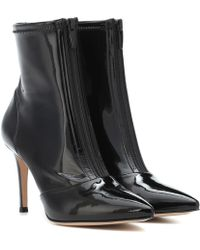 Gianvito Rossi - Welch 85 Vinyl Ankle Boots - Lyst