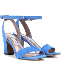 Tabitha Simmons - Leticia Suede Sandals - Lyst