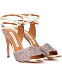 Veronica Beard - Glitter Sandals - Lyst