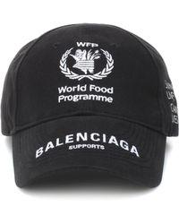 Balenciaga - World Food Programme Cotton Cap - Lyst