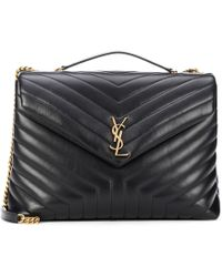 Saint Laurent Large Loulou Monogram Shoulder Bag