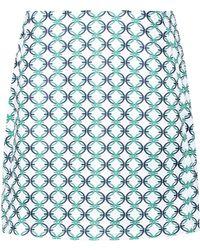 Tory Sport - Printed Golf Skirt - Lyst