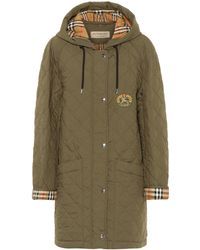 Burberry - Lightweight Quilted Parka - Lyst