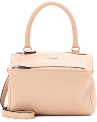 ad4f67e0589c Givenchy - Pandora Small Leather Shoulder Bag - Lyst