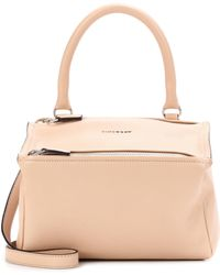 52a5022b52d70 Givenchy Pandora Small Leather Shoulder Bag in Pink - Lyst