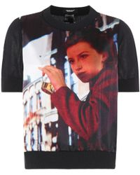 Undercover - Reversible Printed Sweater - Lyst