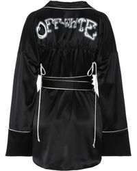 Off-White c/o Virgil Abloh - Satin Pyjama Top - Lyst