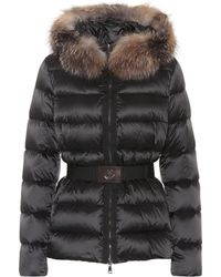Moncler - Tatie Down Jacket With Fox Fur - Lyst