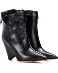 Isabel Marant - Bottines en cuir Luliana - Lyst