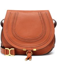 Chloé - Marcie Medium Leather Crossbody Bag - Lyst