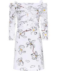Isa Arfen - Off-Shoulder-Kleid aus Baumwolle - Lyst