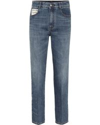 Stella McCartney - High-waisted Straight Jeans - Lyst