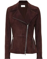 The Row - Paylee Suede Jacket - Lyst