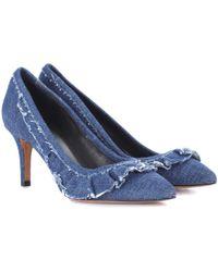 Isabel Marant - Poween Denim Court Shoes - Lyst