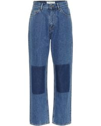 Golden Goose Deluxe Brand - Wide-leg Patch Jeans - Lyst