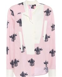 Loewe - Oversized Striped Cotton Shirt - Lyst