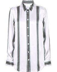 Equipment - Essential Striped Silk Shirt - Lyst