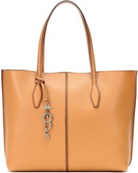 Tod's - Joy Large Leather Shopper - Lyst