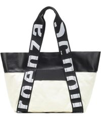 Proenza Schouler - Canvas And Leather Shopper - Lyst