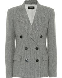 Isabel Marant - Eleigh Wool And Linen Blazer - Lyst