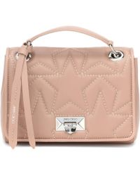 e856cf71a037 Chanel Pink Quilted Leather 'cc' Shoulder Bag in Pink - Lyst