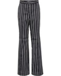 Outlet Release Dates Striped cotton-blend trousers Zimmermann 2018 New For Sale Huge Surprise Online Buy Online New Wiki Sale Online zq9SSr