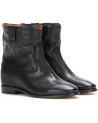 Isabel Marant - Toile Cluster Leather Boots - Lyst