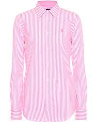 Polo Ralph Lauren - Striped Cotton Shirt - Lyst