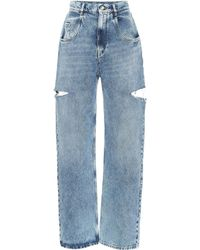 Maison Margiela - High-waisted Jeans - Lyst