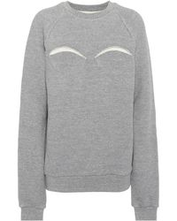 Maison Margiela - Cotton-blend Sweatshirt - Lyst