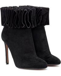 Samuele Failli - Alexandra 105 Suede Ankle Boots - Lyst
